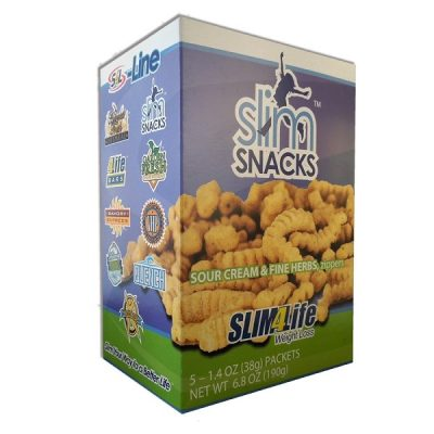 Slim Snacks™ Sour Cream & Fine Herbs Zippers