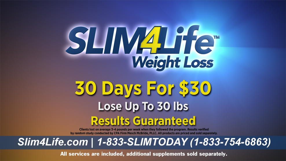 Slim 4 Life Official Website Weight Loss Programs W Support That