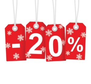 20 Percent Off Sale